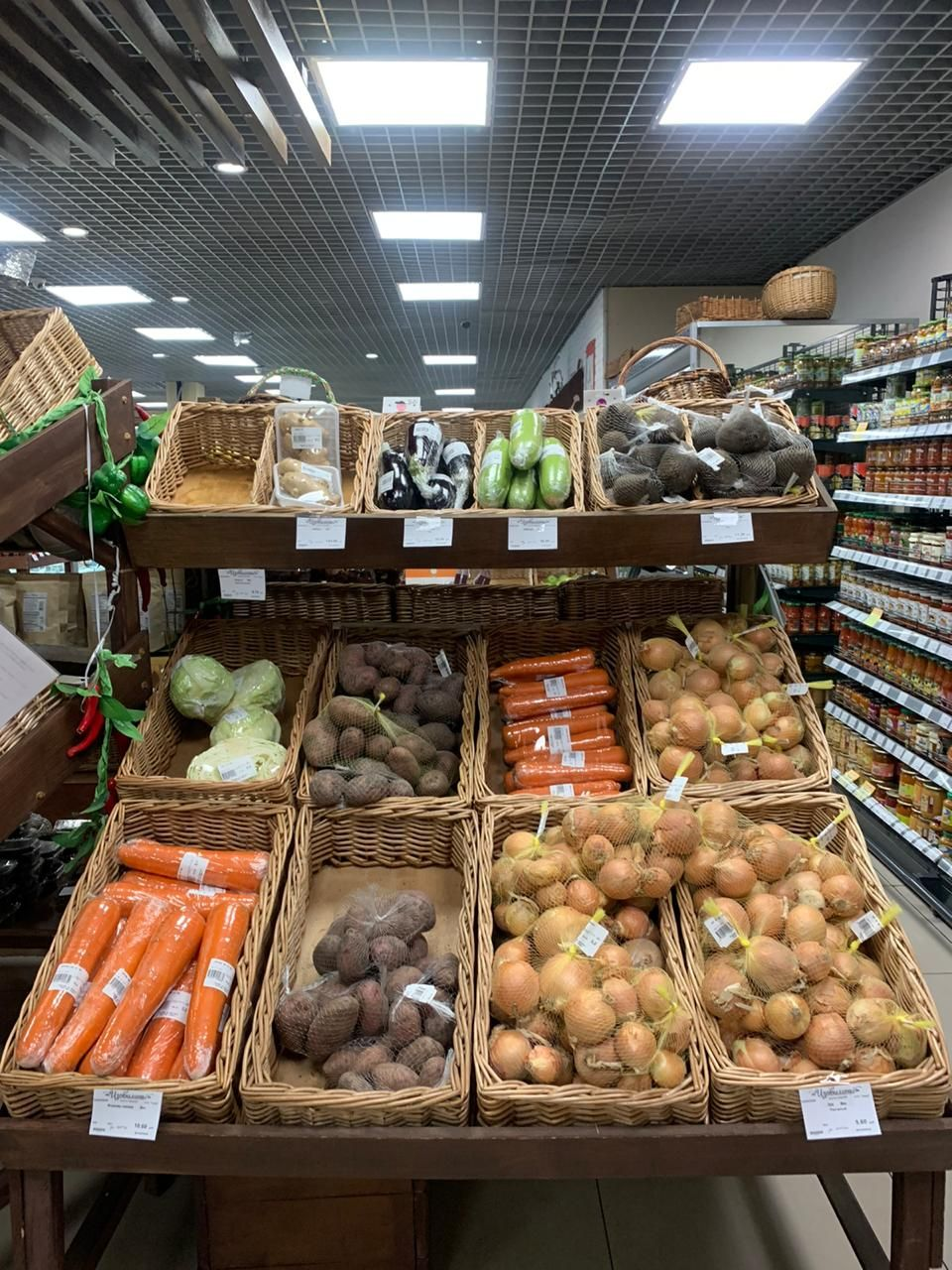 Магазинам, завышающим цены на социально значимые продукты, грозят крупные штрафы