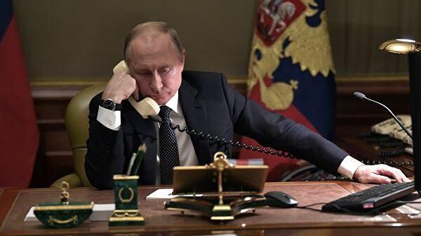 Путин и Трамп обсудили ситуацию на нефтяных рынках и вопросы стратегической безопасности