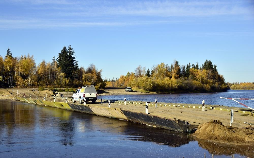 Информация о сроках монтажа наплавных (понтонных) мостов на автомобильной дороге А-331 «Вилюй» в Якутии