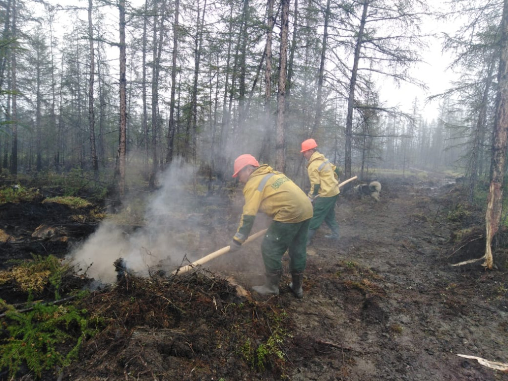 В Якутии действуют 11 природных пожаров