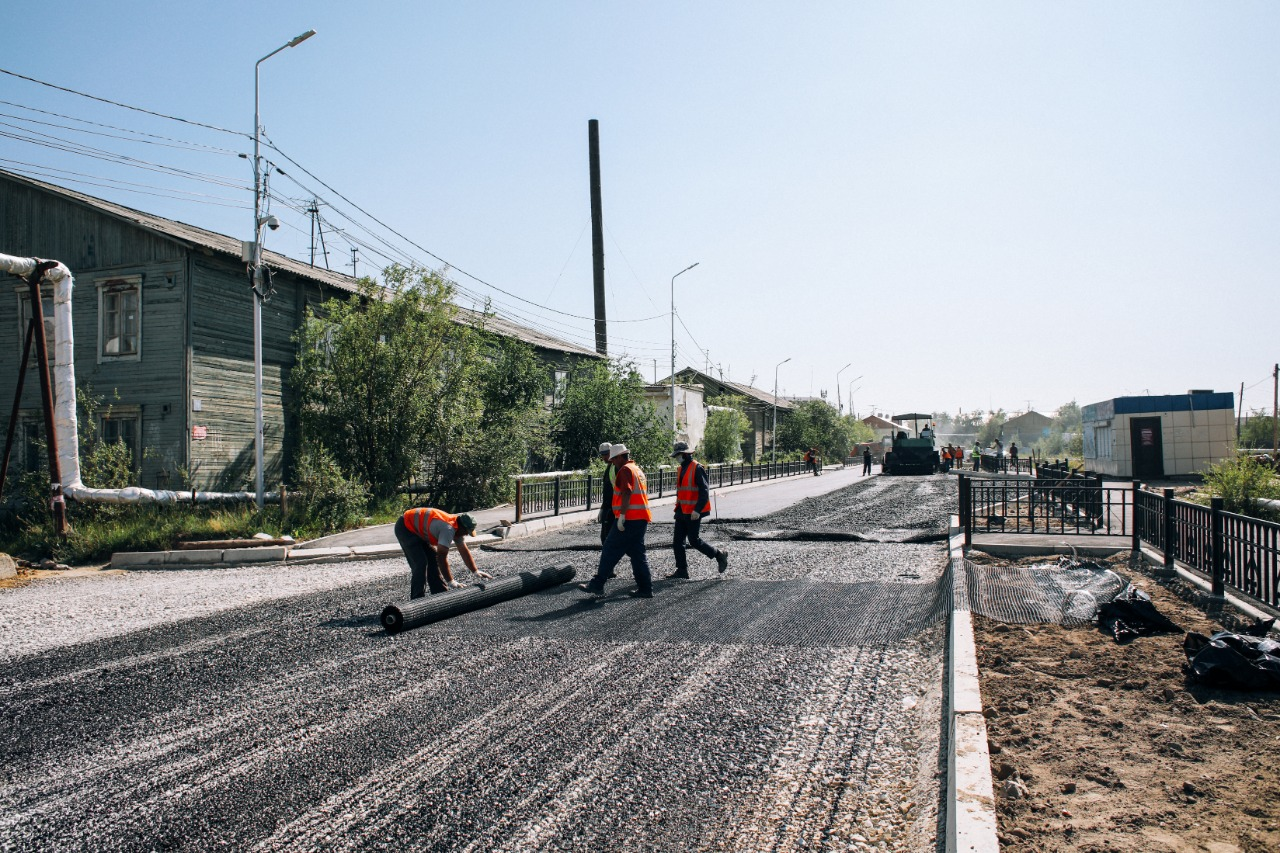 В Якутске продолжится капитальный ремонт переходящих объектов улично-дорожной сети
