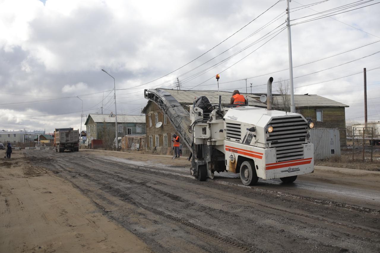 В план текущего ремонта дорожной сети Якутска включено 40 объектов