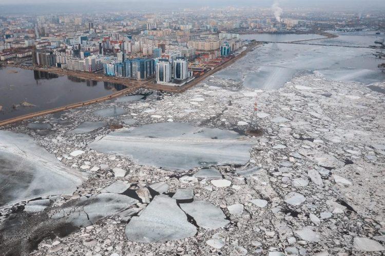 В Якутске оценили ущерб от паводка