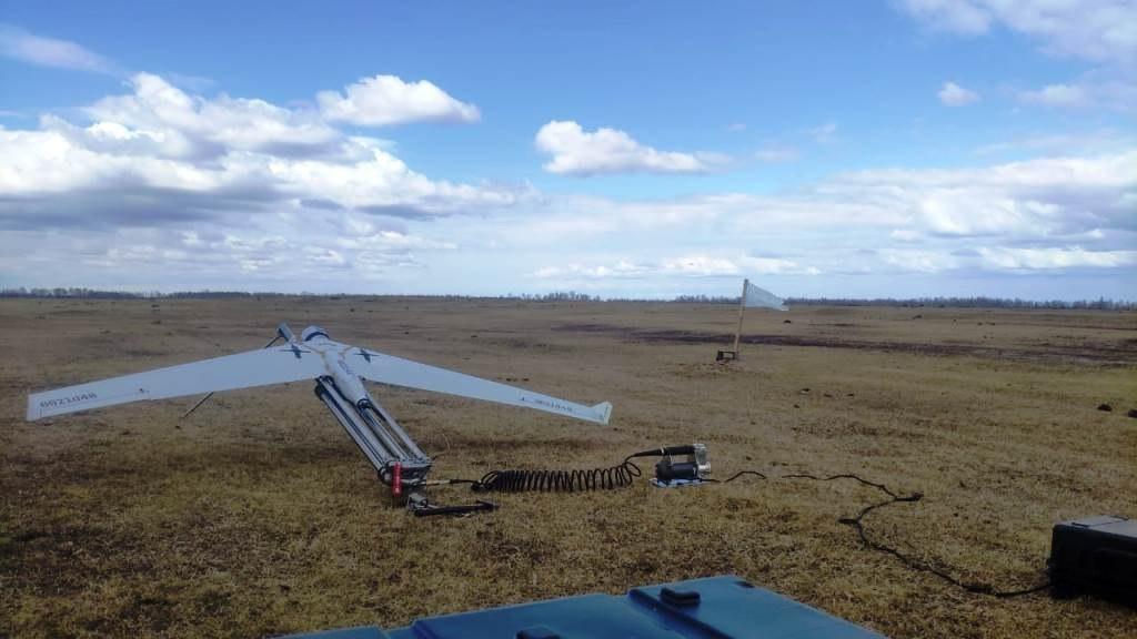 С помощью беспилотников «Полярных авиалиний» спасатели следят за паводковой ситуацией