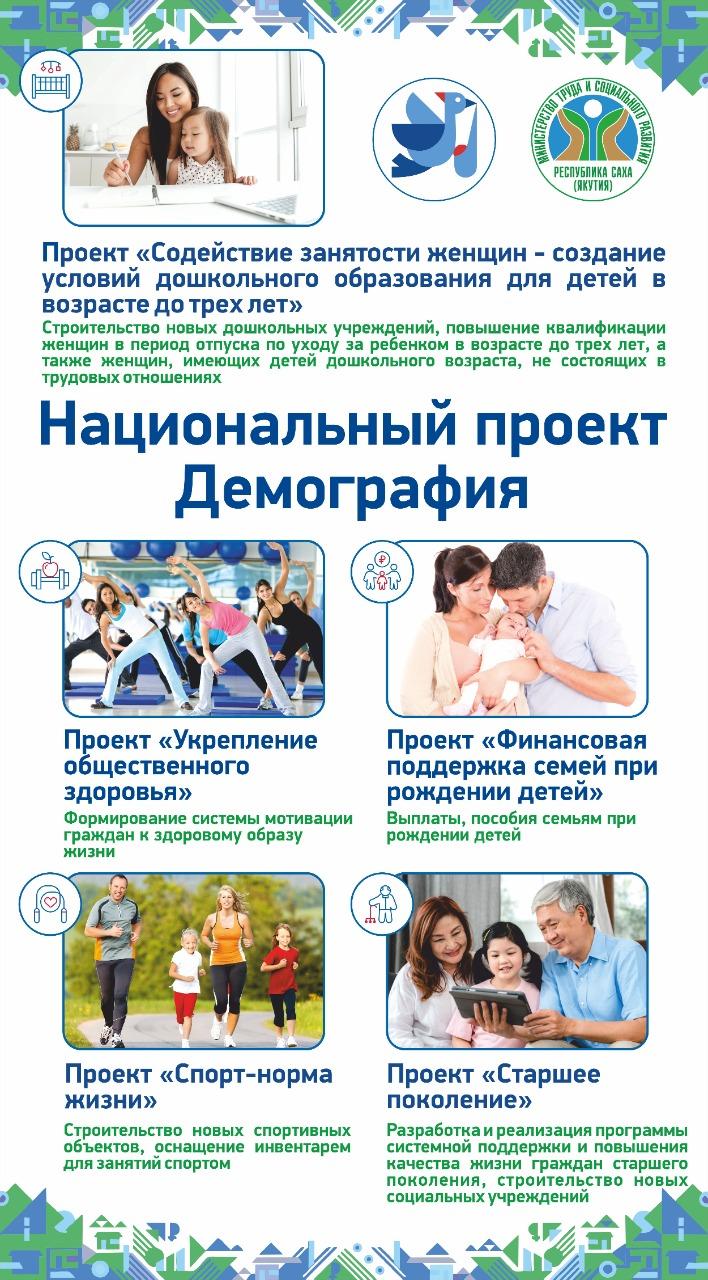 В Якутии семьям оказана финансовая поддержка в рамках регионального проекта