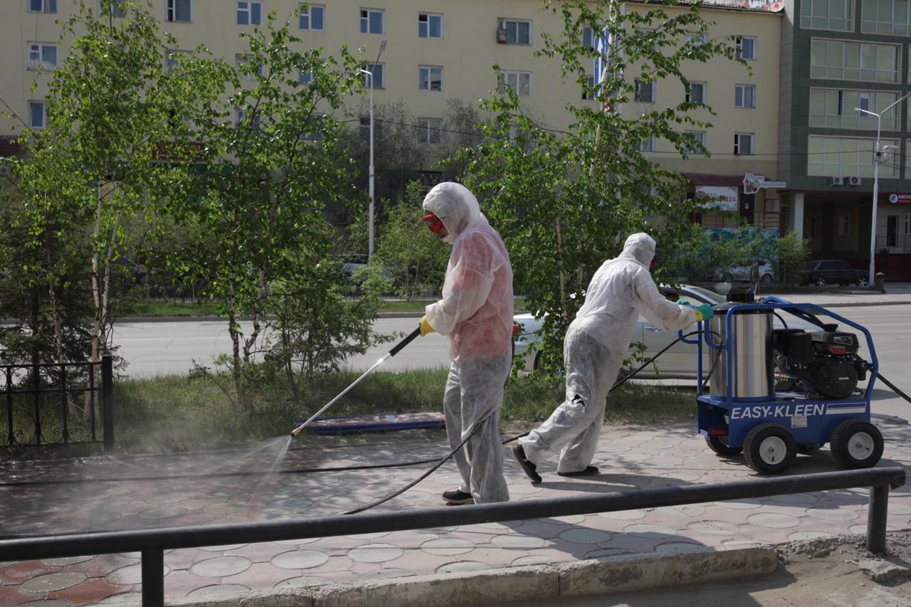 МУП «Жилкомсервис» получил новые мобильные установки для проведения дезинфекции