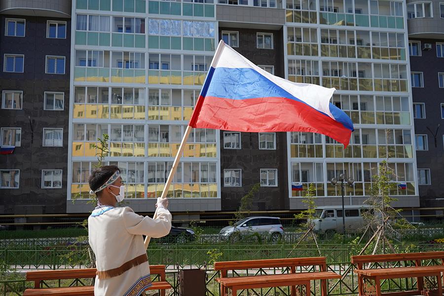 Дом дружбы народов им. А.Е. Кулаковского присоединился к акции #МыРоссия