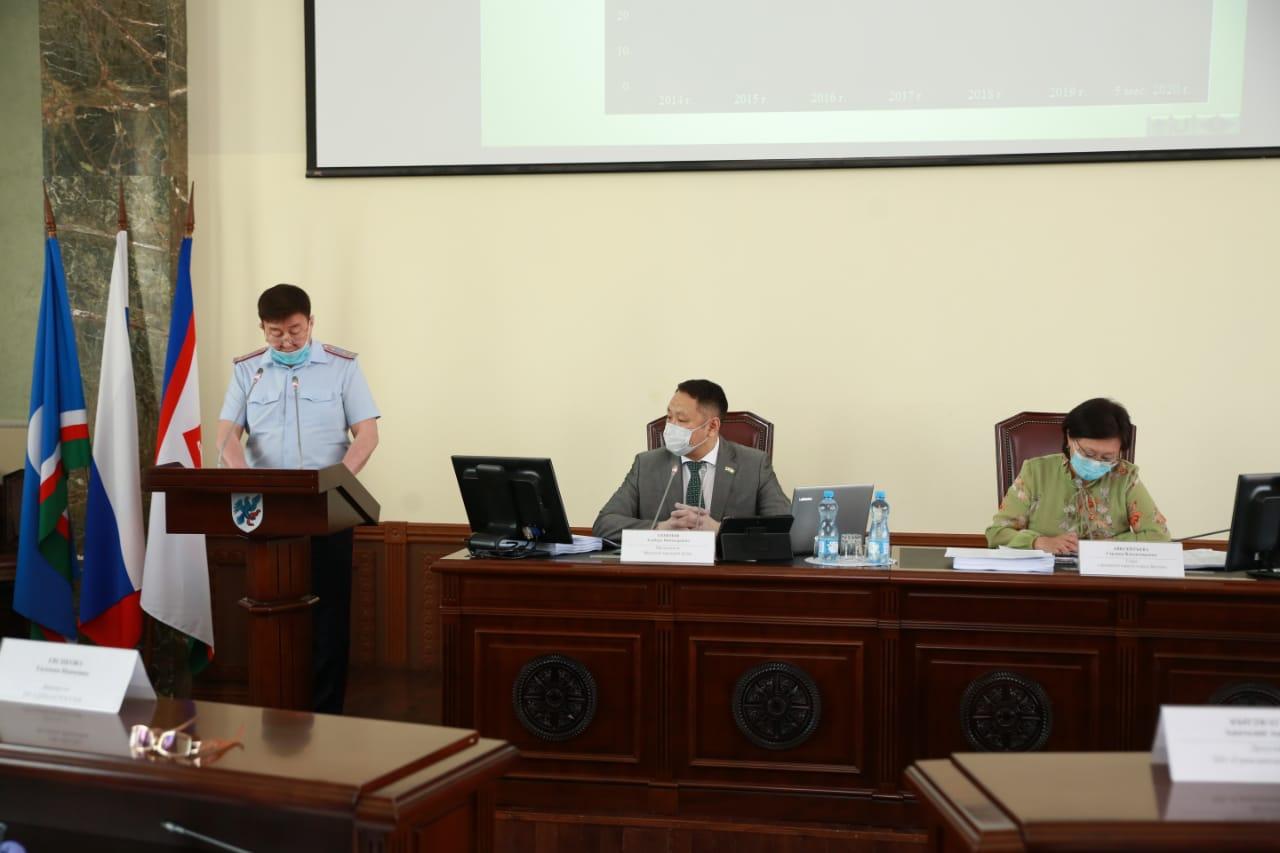Состоялось заседание сессии Якутской городской Думы