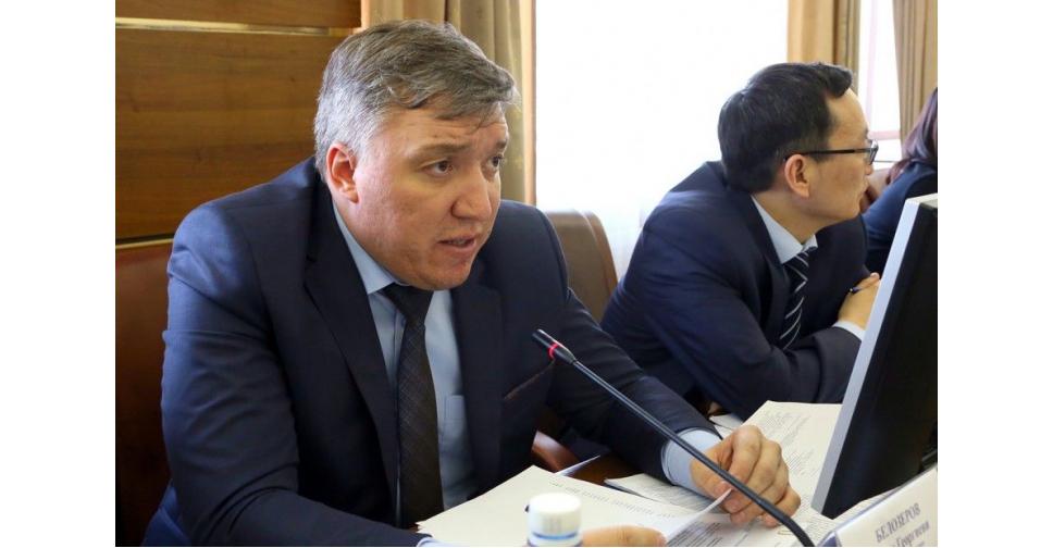 Уволился зампред правительства Якутии Денис БЕЛОЗЕРОВ