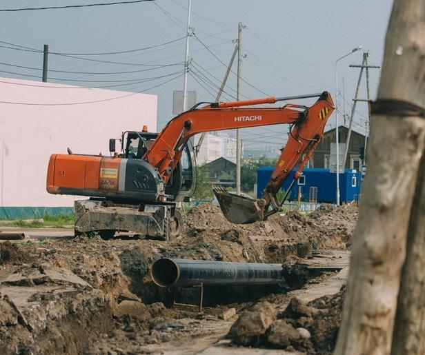 Сахатранснефтегаз проводит контрольно-пневматические испытания газопровода на ул. Губина