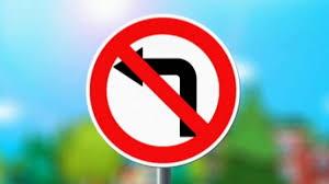 Вниманию водителей: Новый запрещающий дорожный знак появился на на выезде с дворовой территории по улице Лермонтова