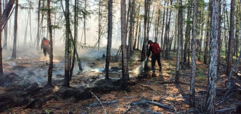 В Якутии за сутки ликвидировано 36 пожаров