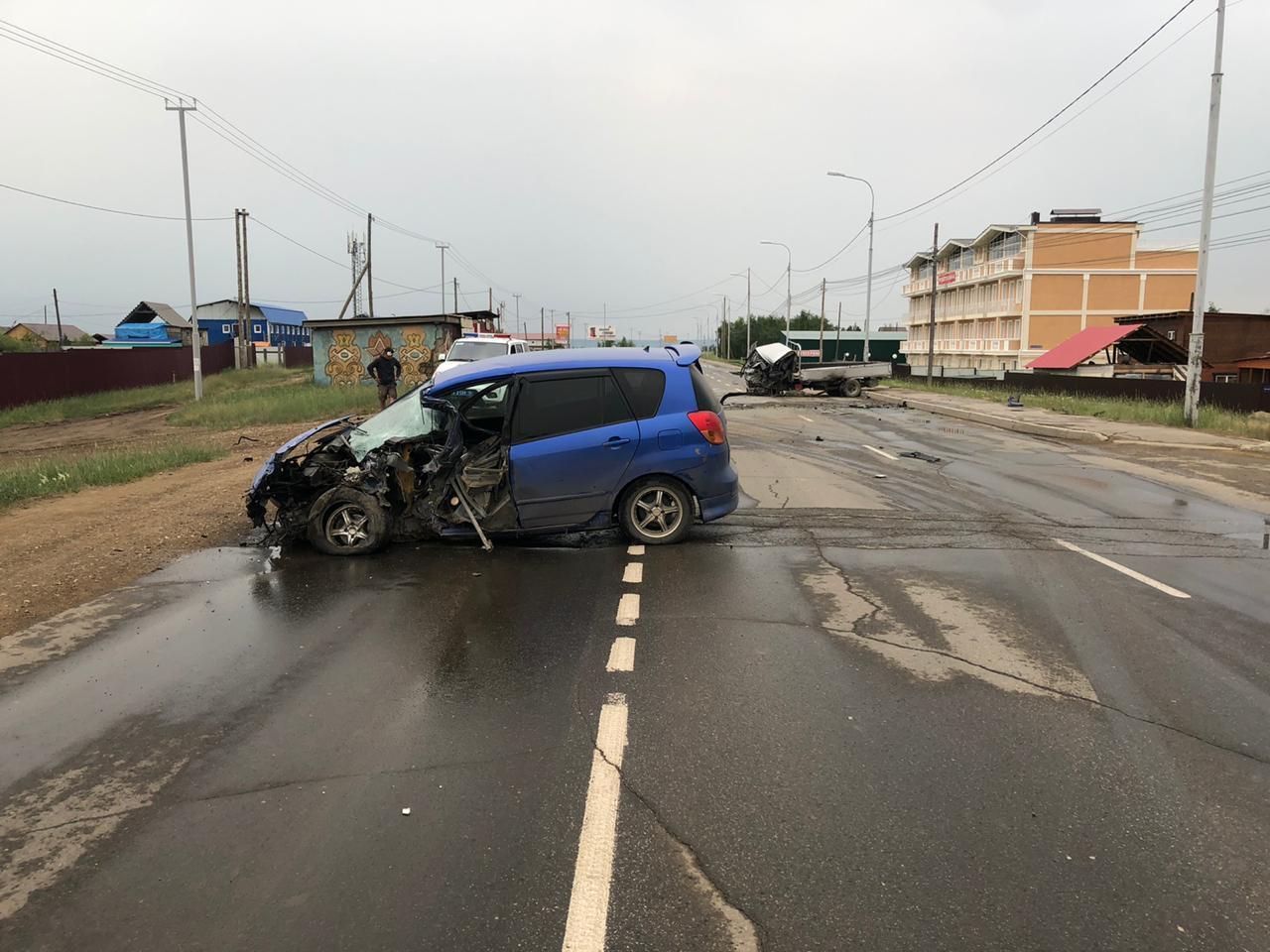 Пьяный водитель устроил ДТП на Покровском тракте в Якутске
