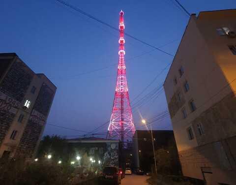 13 августа Якутская телебашня засияет в день рождения РТРС