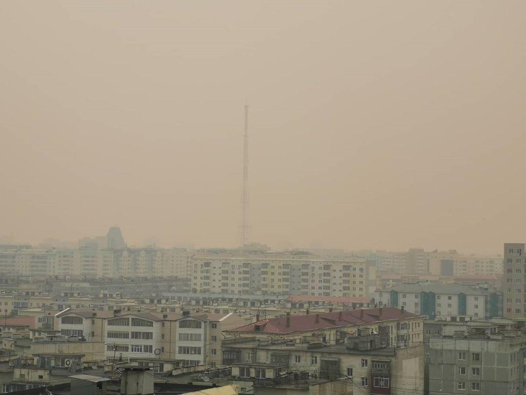 Смог в Якутске вызван лесными пожарами в Усть-Алданском и Чурапчинском районах