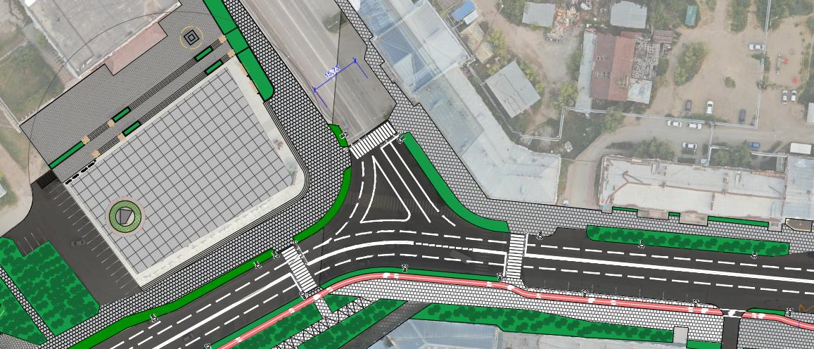 Велосипедные дорожки, разноцветные тротуары, новые пространства для отдыха: как благоустроят проспект Ленина
