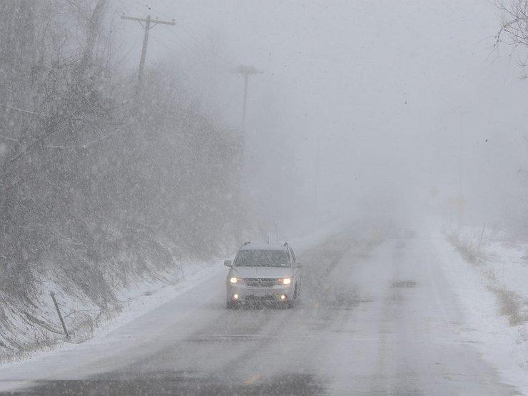 В Якутии ожидается сильный снег, метель