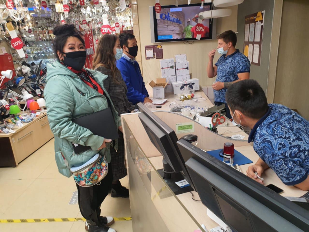 В Якутске усилены контрольные мероприятия по соблюдению санитарно-противоэпидемических правил
