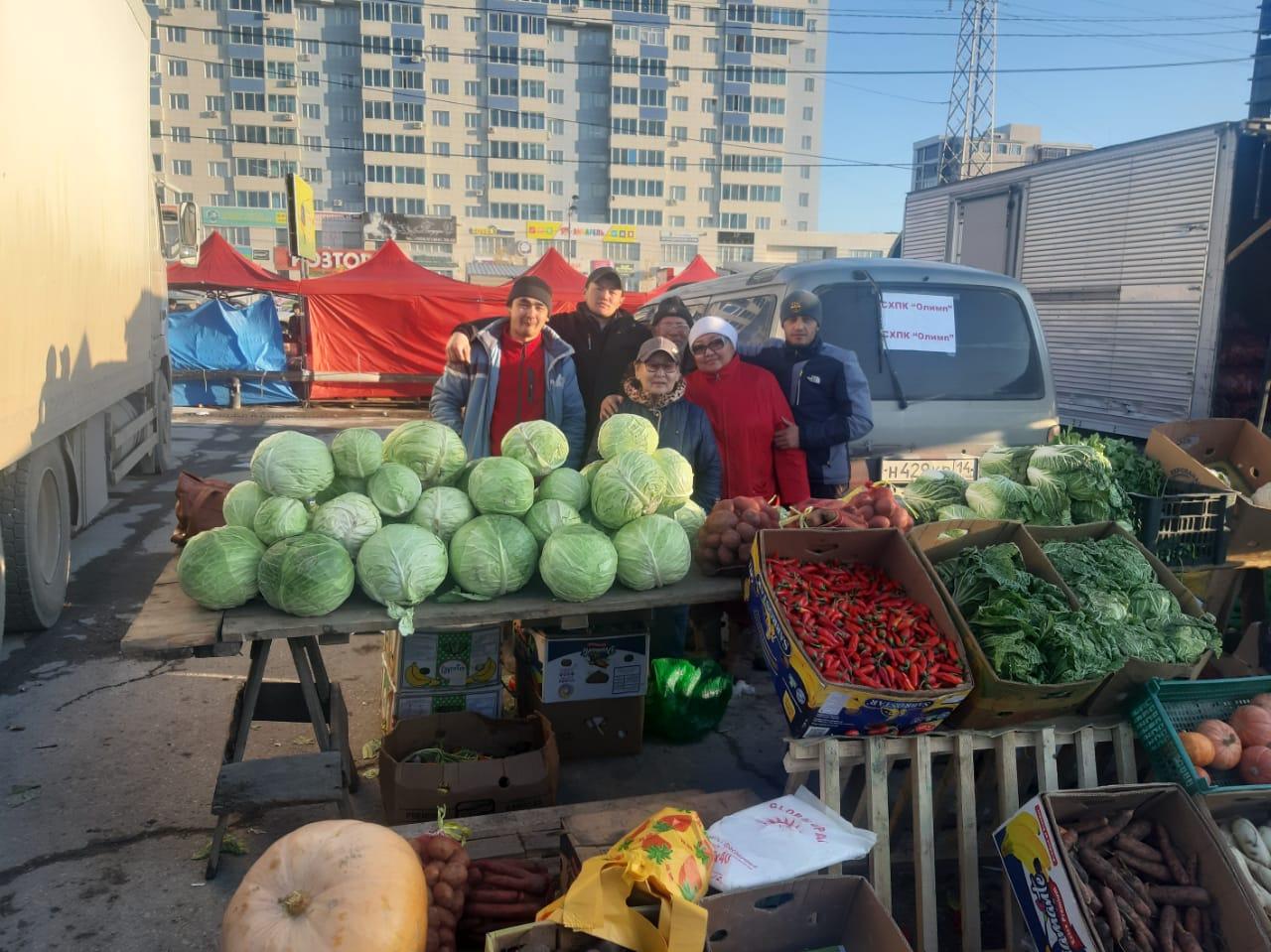 Сельхозпроизводители Якутска собрали более 9 тысяч тонн овощей