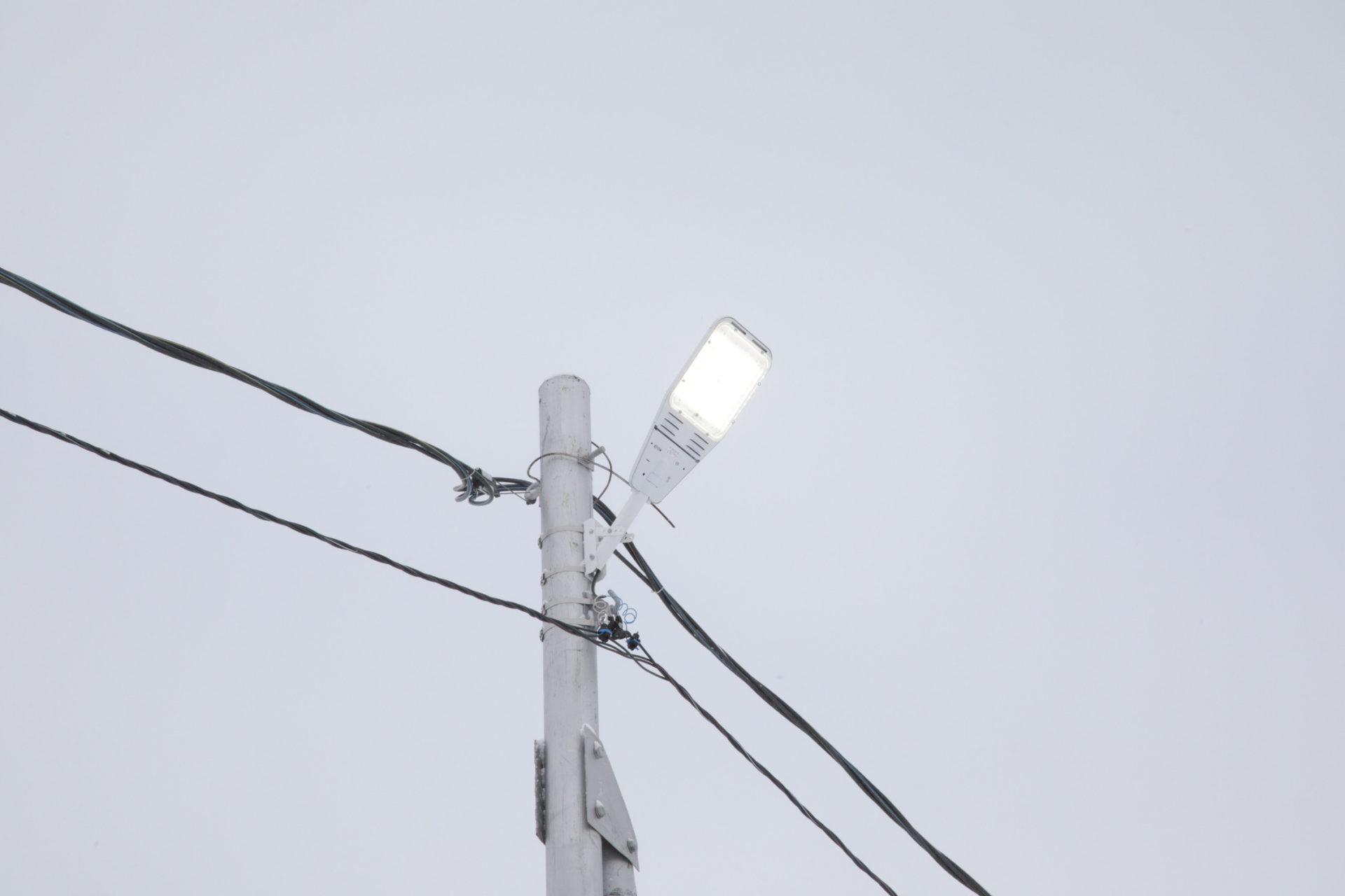 «Светлая столица»: в Якутске и пригородах завершается ввод 13 линий наружного освещения