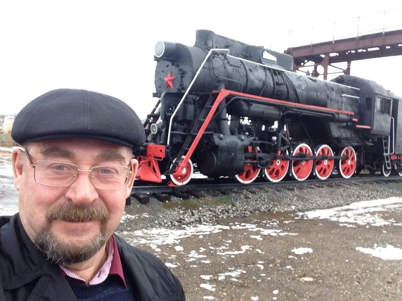 Железнодорожники Якутии  поздравляют с 70-летним юбилеем Владимира Членова