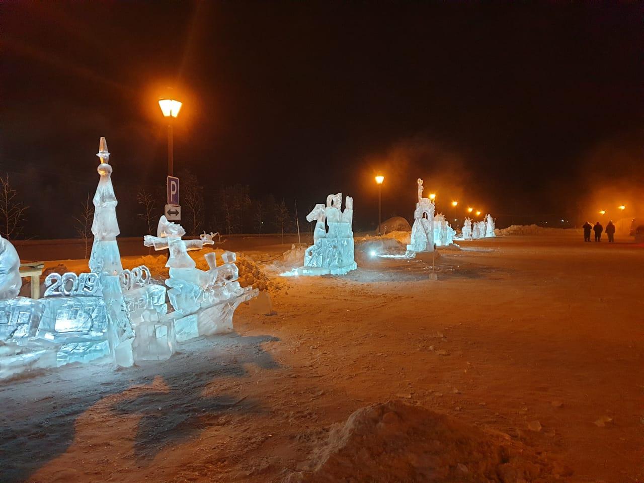 Акционерная компания «Железные дороги Якутии» объявляет конкурс ледовых скульптур «Новогодняя фантазия» в Нижнем Бестяхе