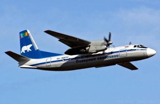 При выполнении регулярного рейса по маршруту Среднеколымск-Якутск произошла аварийная посадка самолета с выключенным двигателем