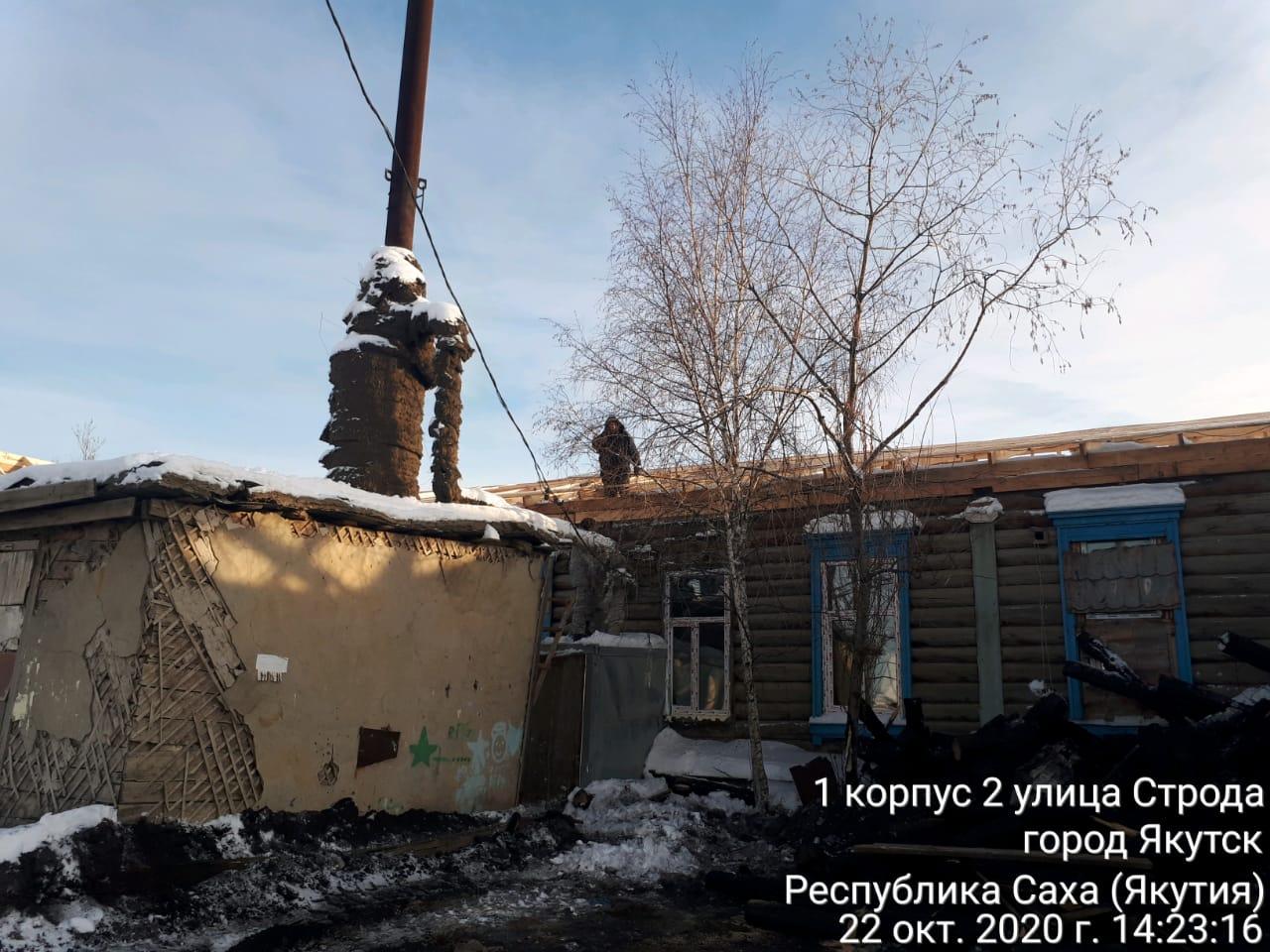 Завершаются ремонтные работы в пострадавшем от пожара доме по ул. Ярославского в микрорайоне Марха