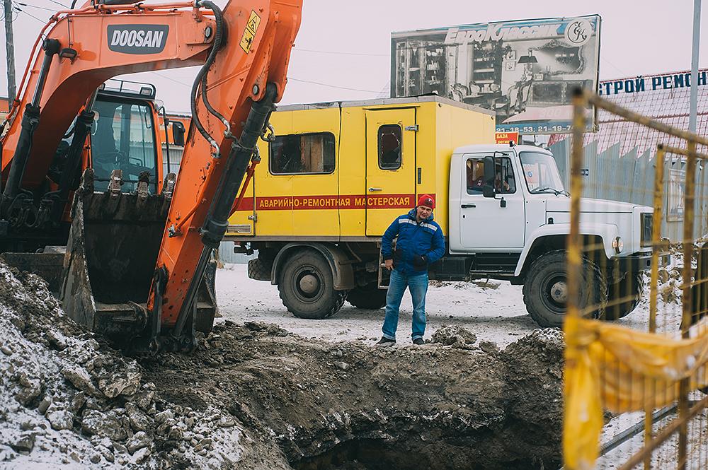 Рабочие будни газовиков
