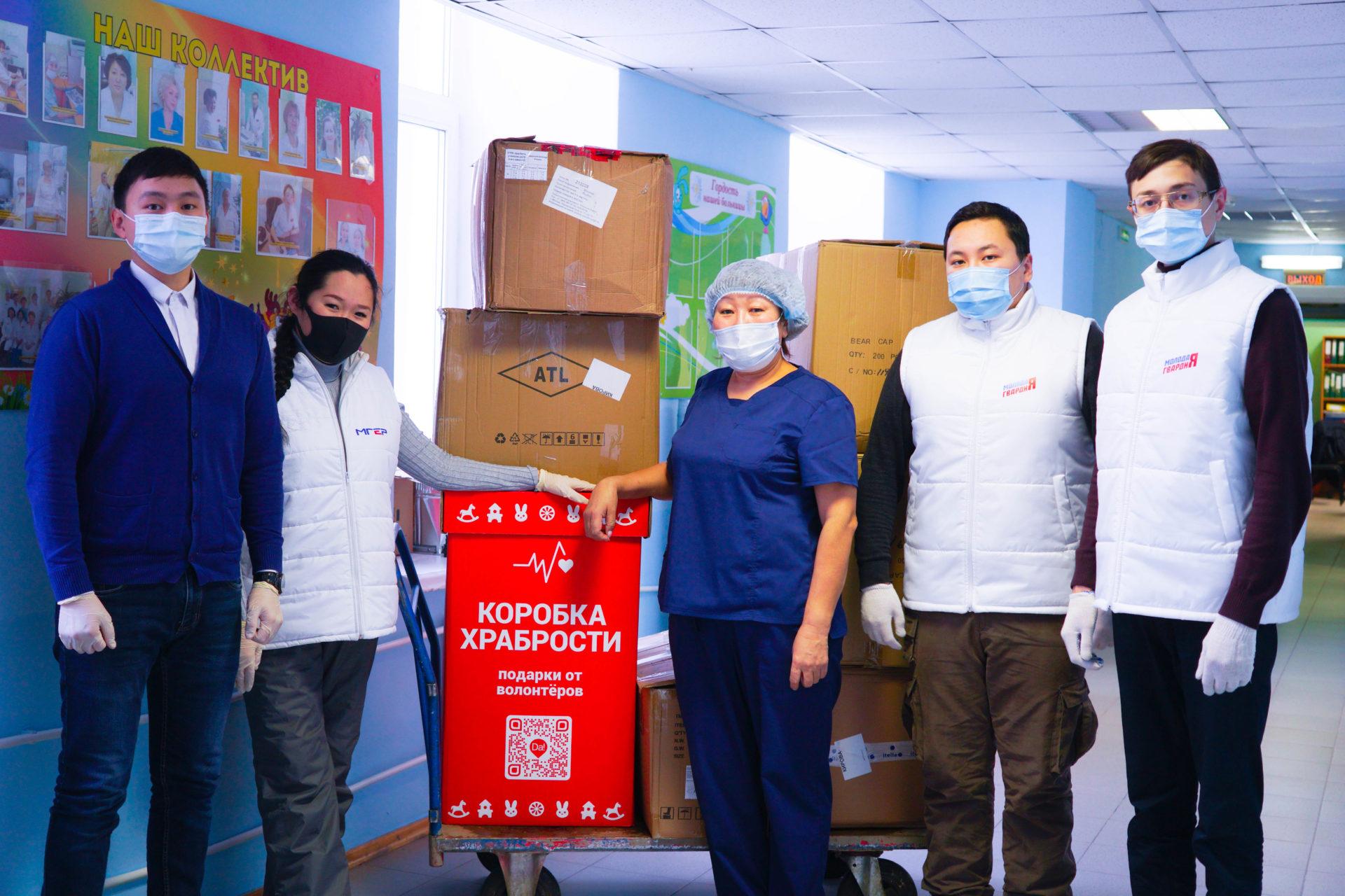 Сторонниками Единой России собрано более 2 тысяч подарков для детей, лечащихся в больницах