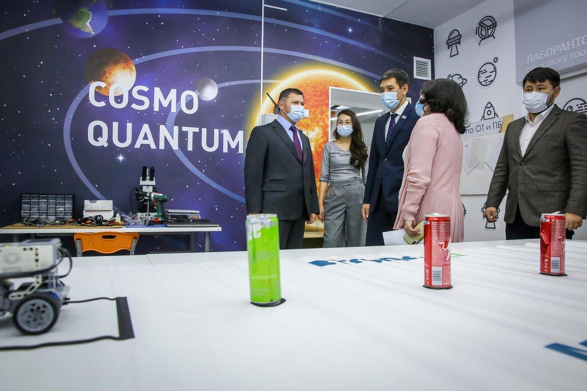 В Якутске во Дворце детского творчества открылся мобильный технопарк «Кванториум»