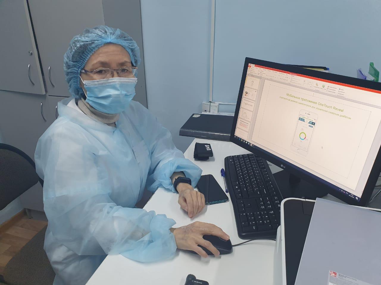 Высокими технологиями — по диабету
