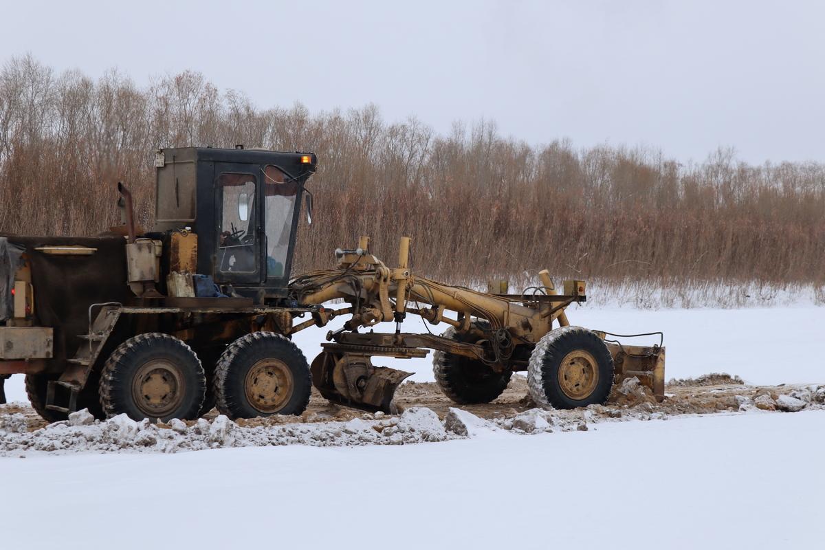 На срок открытия ледовой переправы через реку Лену влияет погода