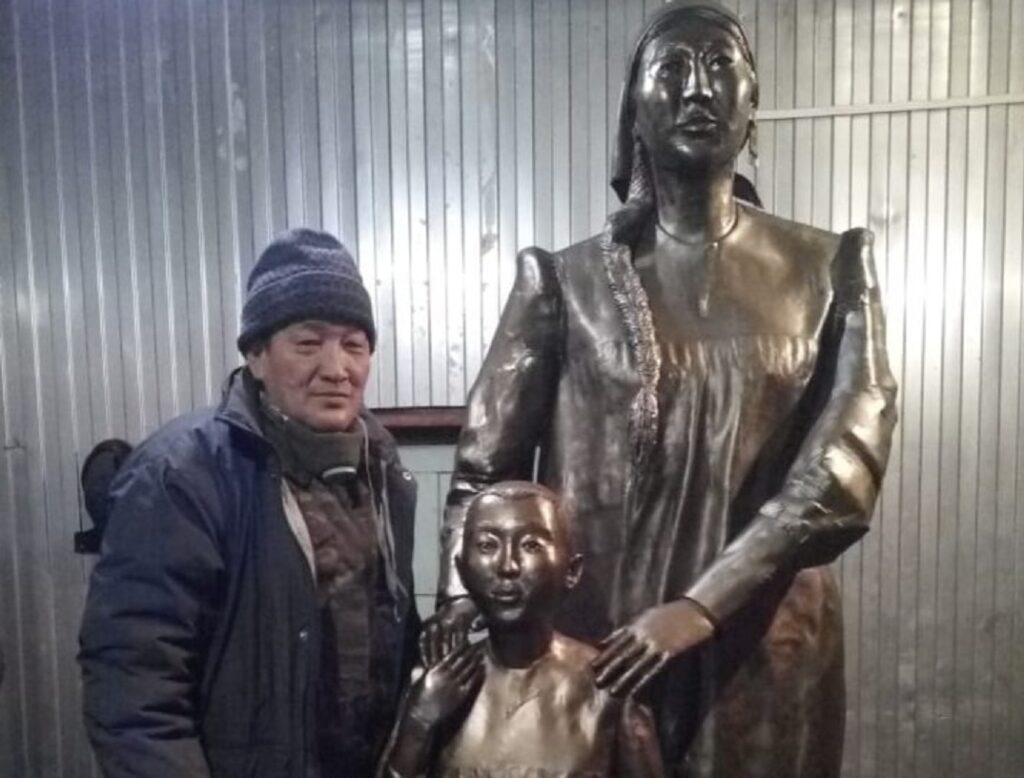 Алексей Скрябин: скульптура, посвященная матерям, украсит село Болугур Амгинского улуса