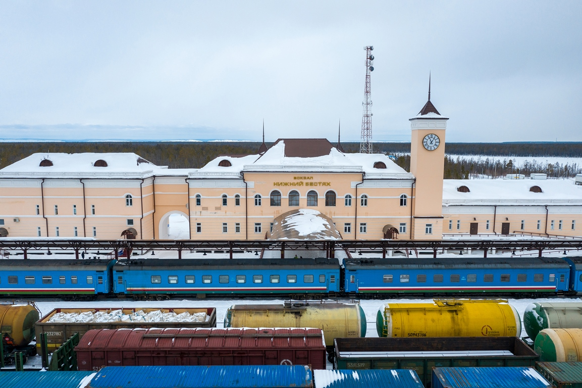 13 декабря пассажирский поезд Нижний Бестях – Нерюнгри переходит на новое расписание