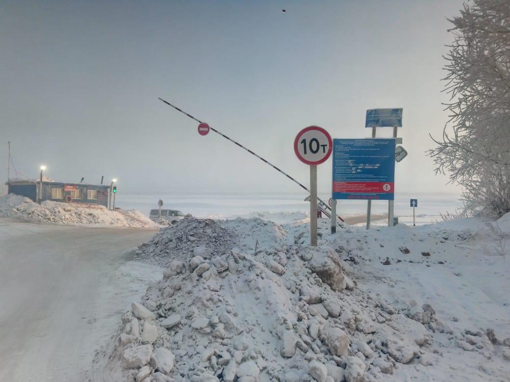 Увеличена грузоподъёмность ледовых переправ на федеральной трассе Р-504 «Колыма»