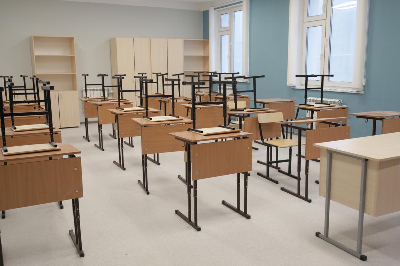 В 203 микрорайоне Якутска готовится к открытию новая школа