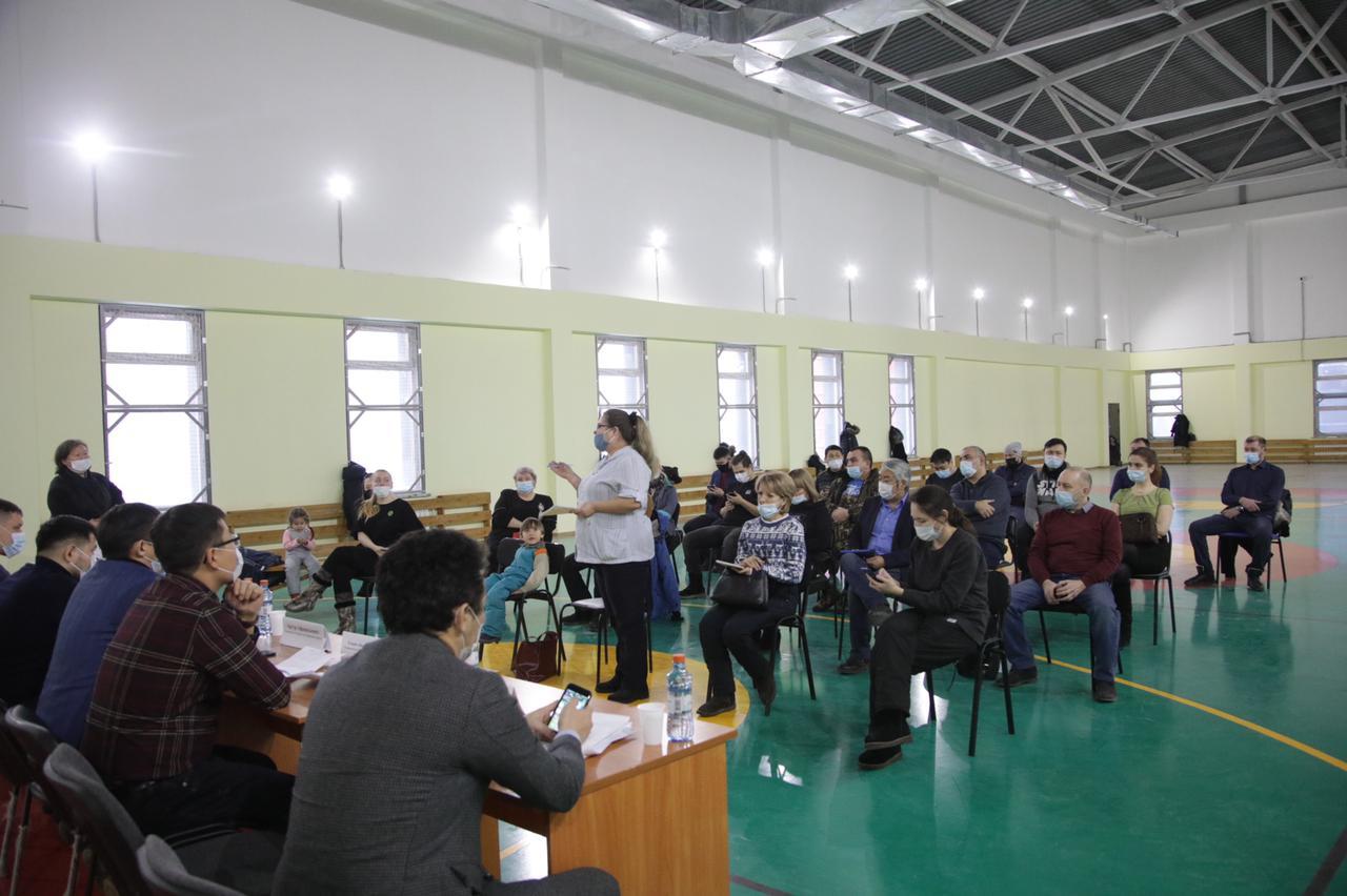 Евгений Григорьев встретился с жителями мкр. Птицефабрика