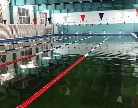 В Нижнем Бестяхе введён спортивный комплекс с плавательным бассейном