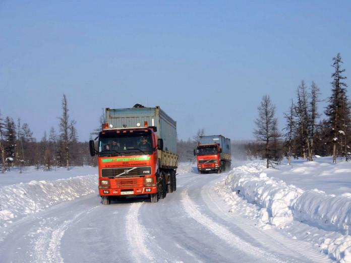 Грузоподъемность увеличена до 20 тонн на участках автозимника дороги «Себян» и автодороге «Индигир».