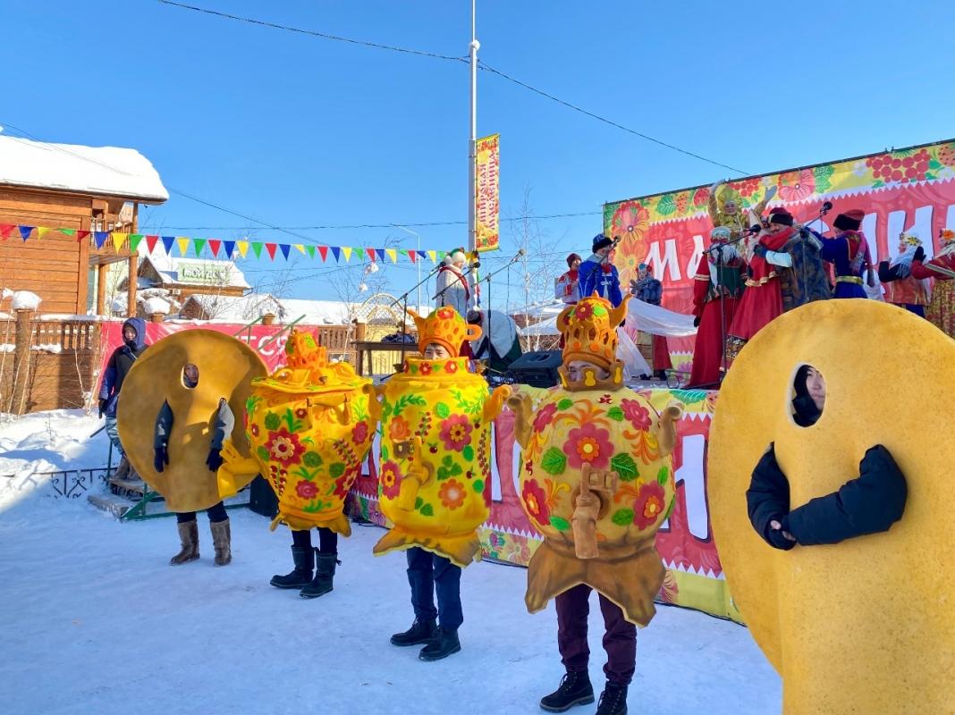 Масленичные гулянья пройдут в Якутске в дистанционном формате