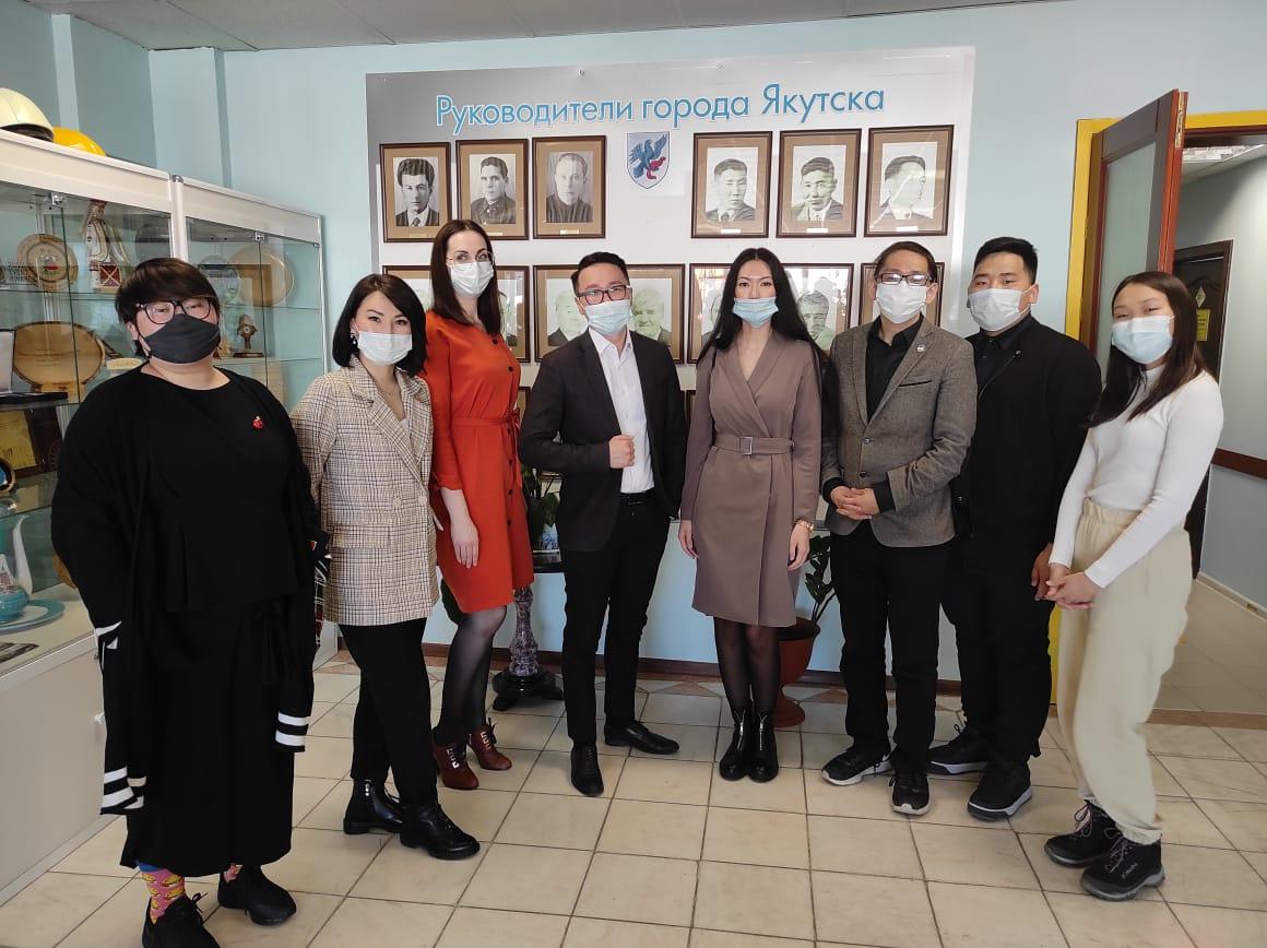 В Окружной администрации города Якутска прошел День дублера