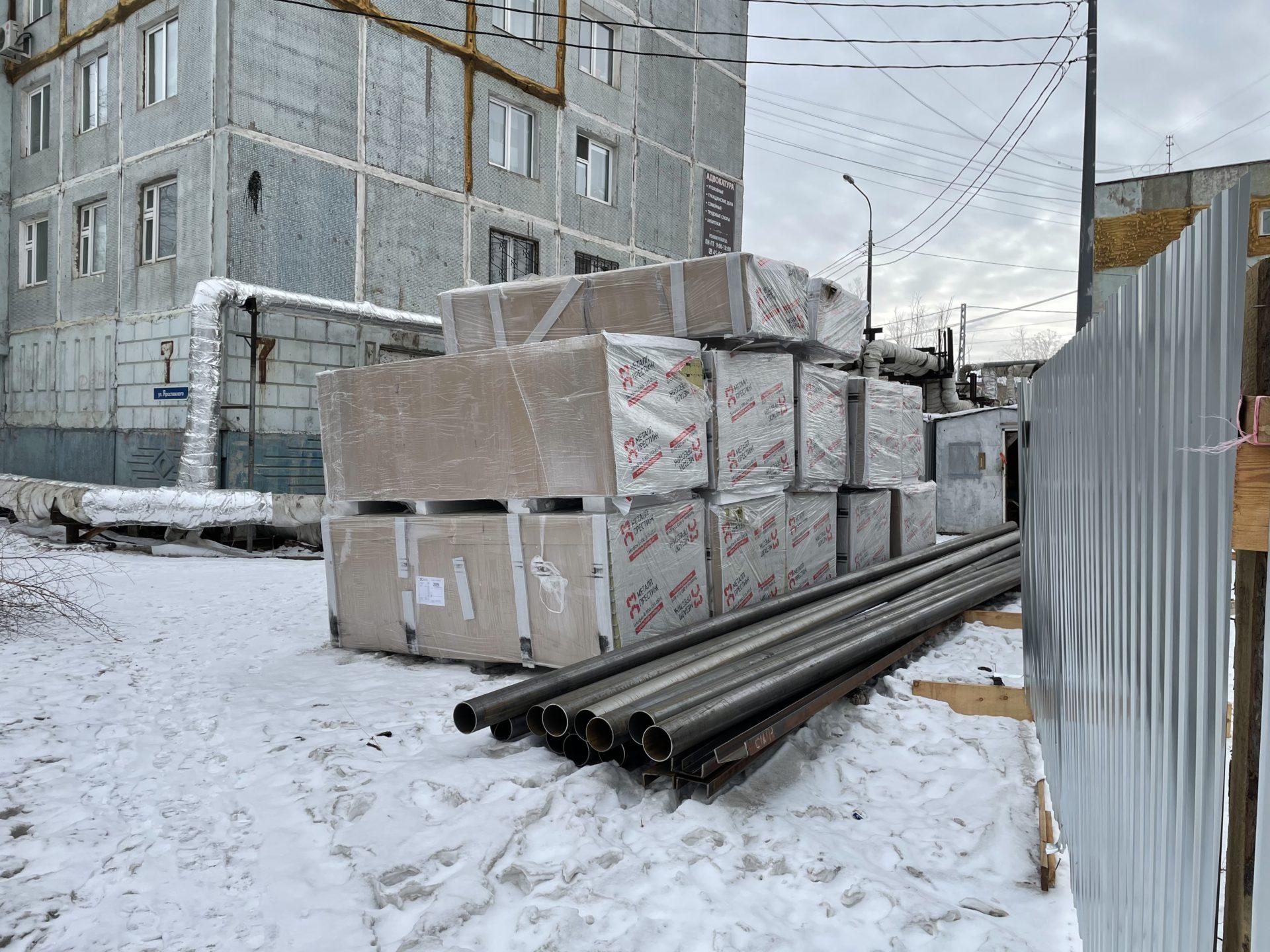 Информация о самовольном строительстве возле дома по ул. Ярославского, 7, не соответствует действительности