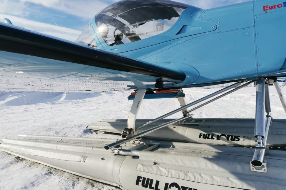 Спасатели провели авиамониторинг ледовой обстановки в Якутии