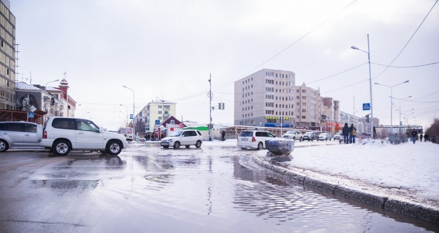 Дождь и небольшой снег. Прогноз погоды на выходные в Якутске