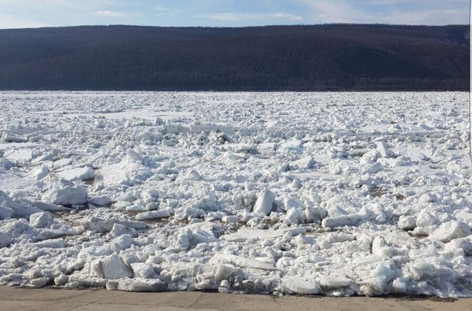 Ледоход на Лене достигнет границ Якутии 9-10 мая
