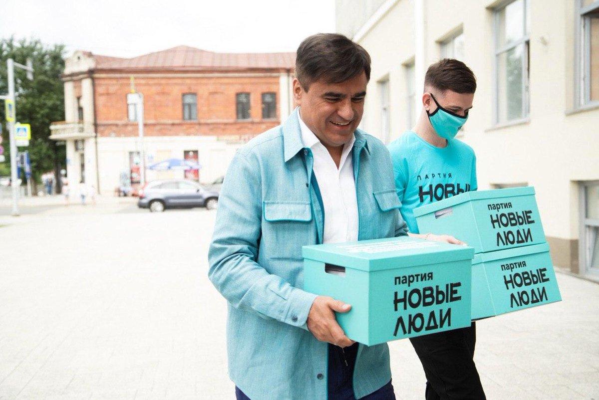 По данным ВЦИОМ, партия  «Новые люди» набирает популярность