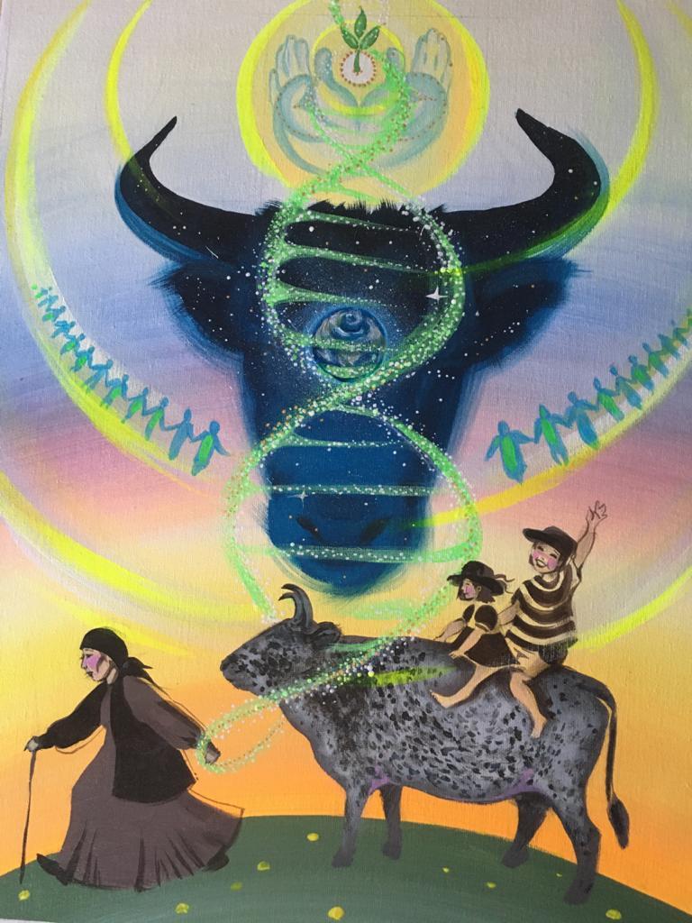 Диана ЧОМЧОЕВА: «История моей коровы Суораттаах длиною в 360 миллион лет»
